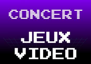 Affiche concert jeux video