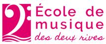 Ecole de Musique des Deux Rives Logo